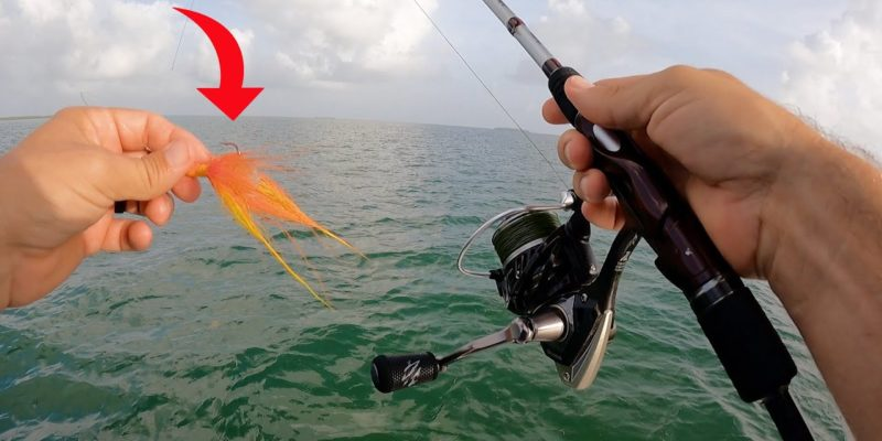 MARSH MAN MASSON: Fish Of My Dreams SMASHES This bucktail Jig!