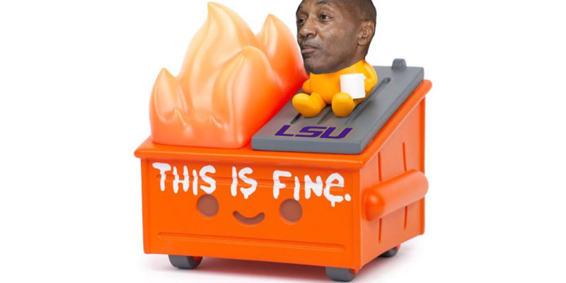 This Is What Bill Tate Has Already Done To LSU